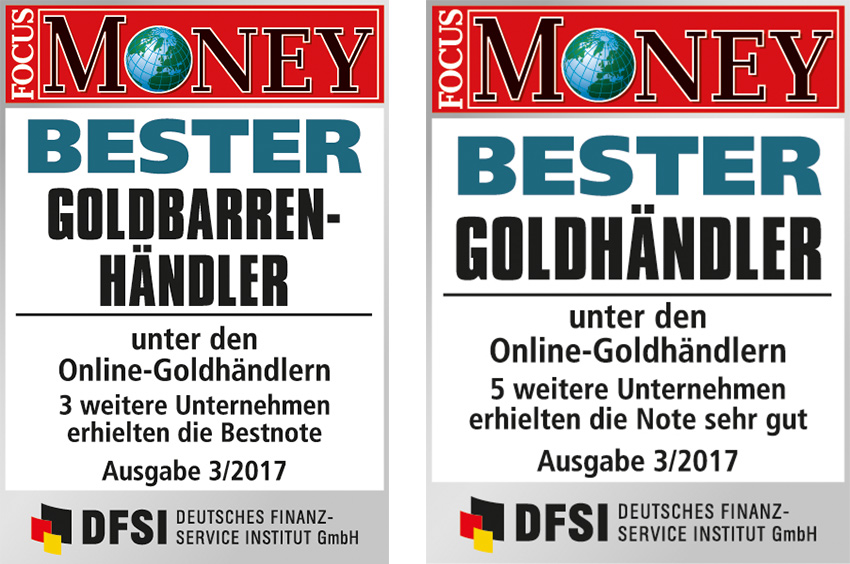Focus Money Bester Goldbarrenhändler
