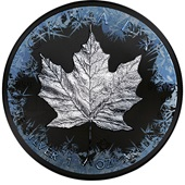 Silber 1 oz Premium Maple Leaf Deep Frozen  Edition