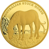 Gold Stock Horse 5 oz PP - 2017