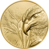 Gold Majestic Eagle 1 oz PP - High Relief 2020