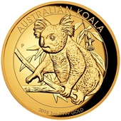 Gold Koala 1 oz PP High Relief - 2018