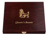 Sammelbox Queen's Beasts 1 oz Gold