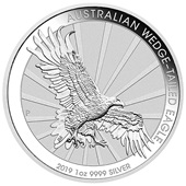 Silber Wedge Tailed Eagle 1 oz - 2019