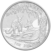 Silber Känguru Seasons Change 1 oz 2018