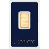 Goldbarren 10g - philoro