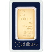 Goldbarren 50g - philoro