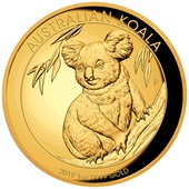 Gold Koala 1 oz PP High Relief - 2019