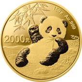 Gold China Panda 150 g PP - 2020