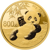 Gold China Panda 50 g PP - 2020