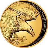 Gold Wedge Tailed Eagle 2020 - 1 oz PP High Relief