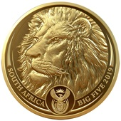 Gold Löwe 1 oz PP - Big Five Südafrika