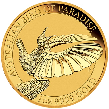 Goldmünze Birds of Paradise  – Viktoria Paradiesvogel 1oz 2018