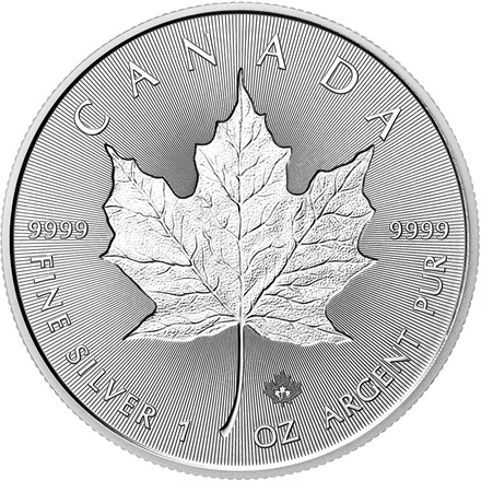 Silber Maple Leaf 11 Incuse 2018
