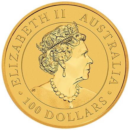 Gold Australian Nugget 1 oz - Welcome Stranger 2019