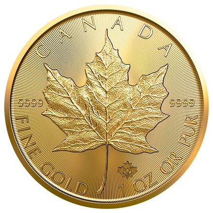 Gold Maple Leaf 1/1 - 2019