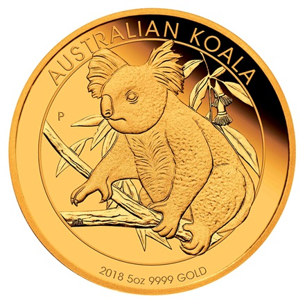 Gold Koala 5 oz PP - 2018