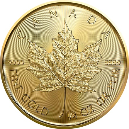Gold Maple Leaf 1/4 - 2020
