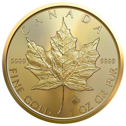 Gold Maple Leaf 1/1 - 2020