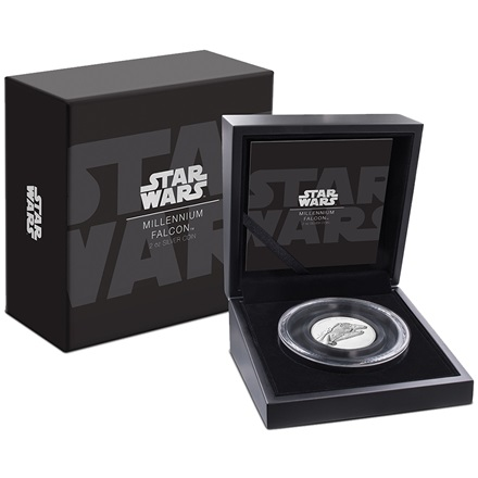 Silber Star Wars Millenium Falke™ 2 oz Ultra High Relief - 2019