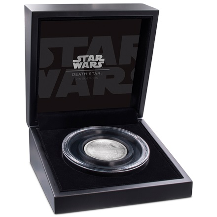 Silber Star Wars Todesstern 2 oz Ultra High Relief 2018