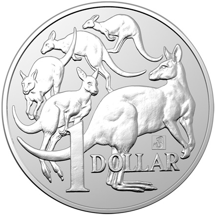 Silber 1 oz Mob of Roos 2019