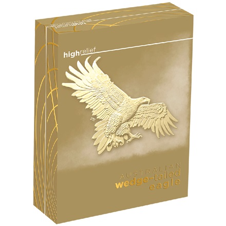 Gold Wedge Tailed Eagle 2019 - 2 oz PP High Relief