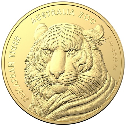 Gold Sumatra-Tiger 1 oz - RAM 2020