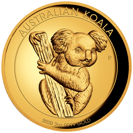 Gold Koala 2 oz PP High Relief - 2020