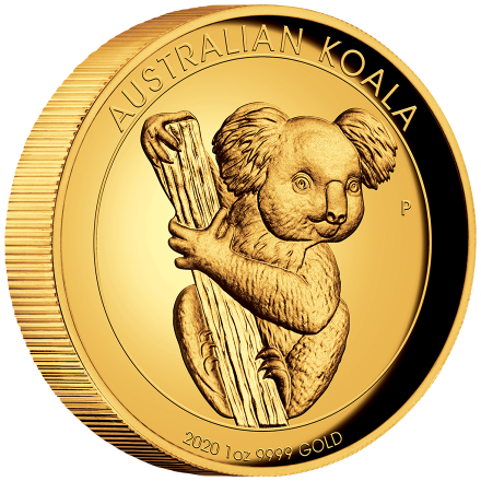 Gold Koala 1 oz PP High Relief - 2020