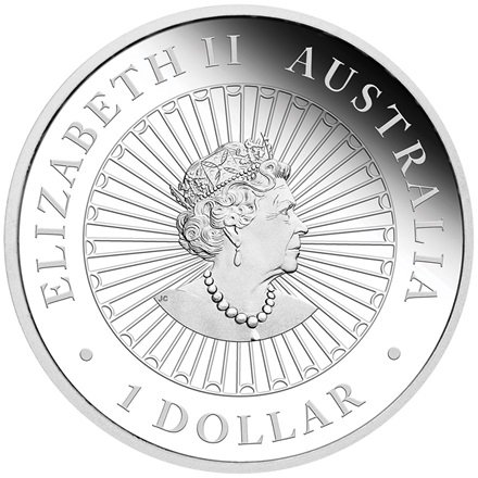 Silber Opal-Münze 1 oz - Great Southern Land - PP 2020