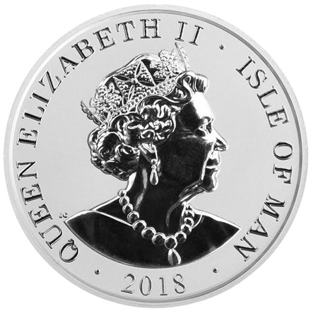 Silber 1 oz Noble Isle of Man PP - 2018