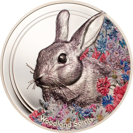 Silber Woodland Spirits - Rabbit 1 oz