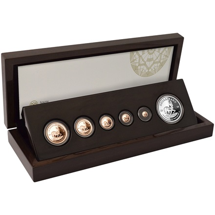 Gold Krugerrand Fractional-Set PP 2018