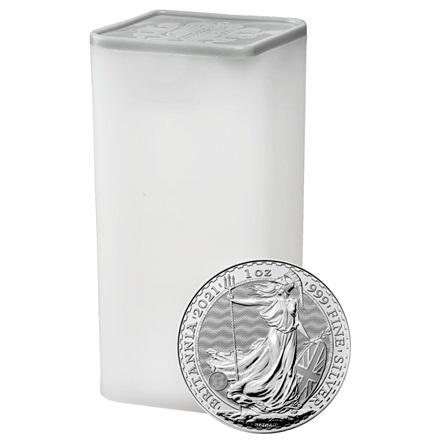 Various Sonstige Muenztube fuer 25x Silber Britannia 1 oz 0