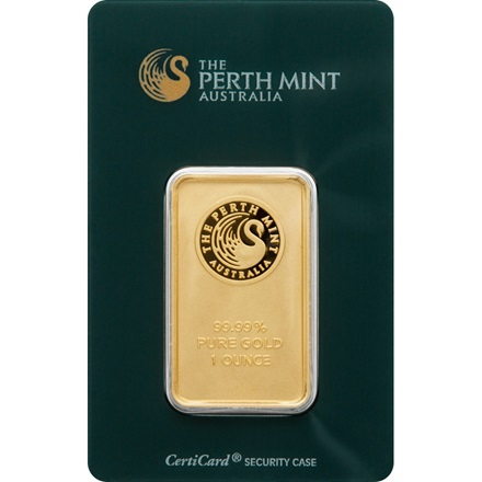 Goldbarren 1oz - Perth Mint