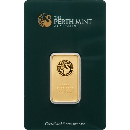 Goldbarren 20g - Perth Mint
