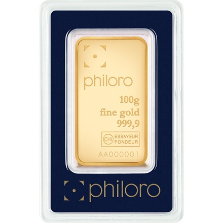 Goldbarren 100g - philoro