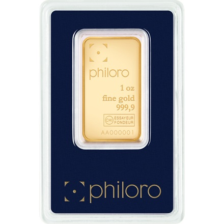 goldbarren 1oz philoro 1 oz gold f r bei philoro edelmetalle aus leipzig gold. Black Bedroom Furniture Sets. Home Design Ideas