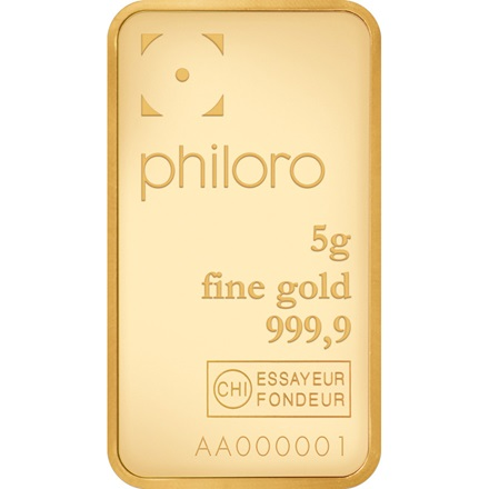 Goldbarren 5g - philoro
