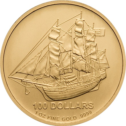 Gold Cook Islands 1/1