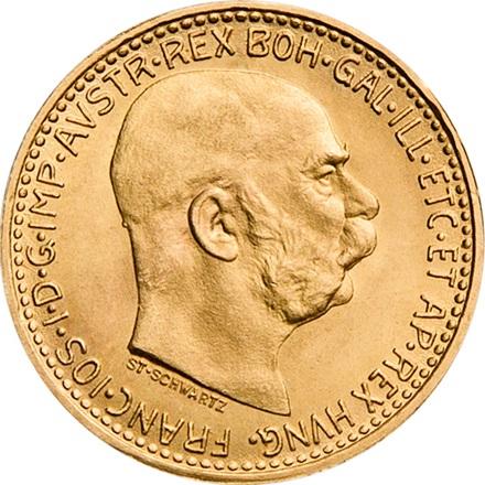Gold 10 Kronen