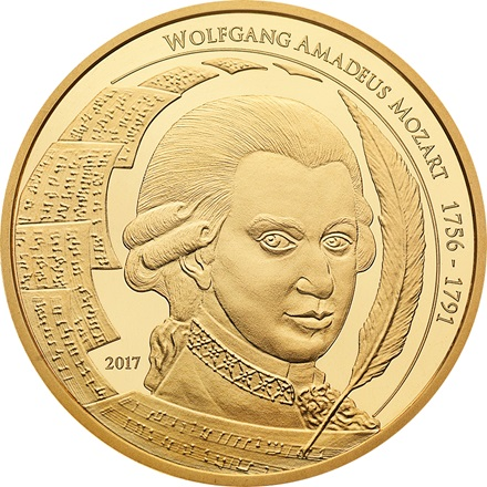 Gold Mozart Coin 1/2 – philoro