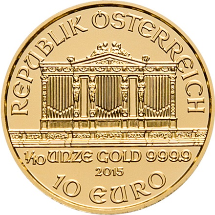 Gold Philharmoniker 1/10