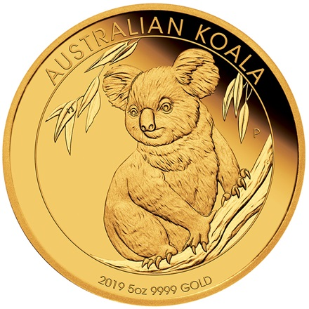 Gold Koala 5 oz PP - 2019