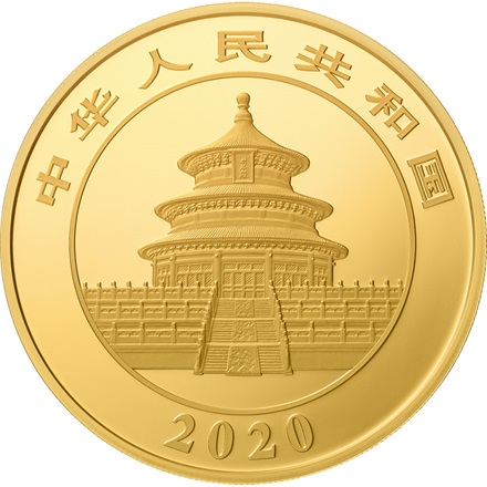 Gold China Panda 100 g PP - 2020