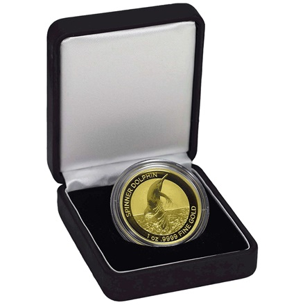 Gold Spinner Dolphin 1 oz 2020
