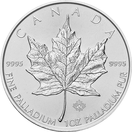 Palladium Maple Leaf 1/1