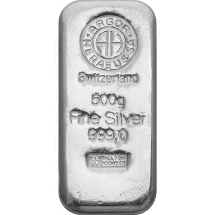 Silberbarren 500g