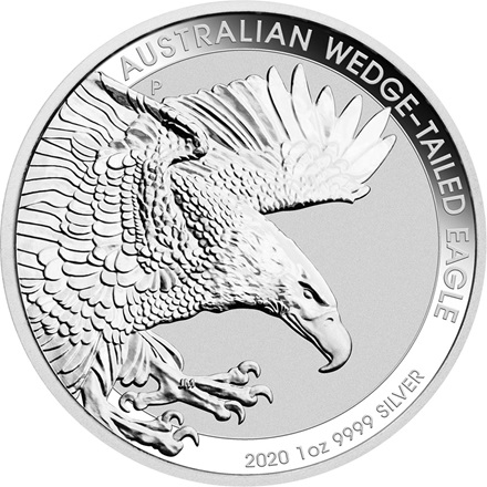 Silber Wedge Tailed Eagle 1 oz - 2020