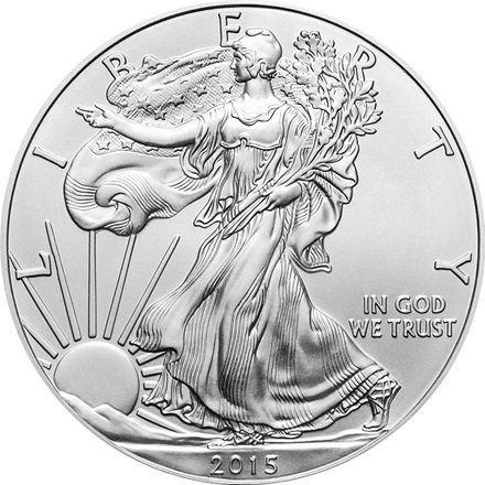 (Random year) 1 Oz silver Eagle United States  Front
